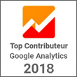 Top Contributeur 2018 - Google Analytics